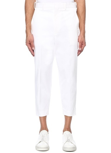 Neil Barrett Pantolon Beyaz